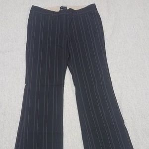 The Limited Pinstripe Straight Leg Pants